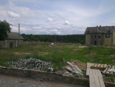 строительство грунтового корта в г.Коростень