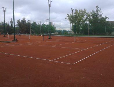 строительство грунтовых теннисных кортов в г. Кривой Рог